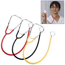 Portable Dual Head EMT Stethoscope for Doctor Nurse Student Auscultation Device Durable Health Monitors Medical Equipment