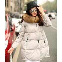 Frauen Pelz Kragen Mantel Warm Verdicken Jacke Frau Unten Jacke Plus Größe Schwangere Jacke Frauen Oberbekleidung Mutterschaft Kleidung Winter
