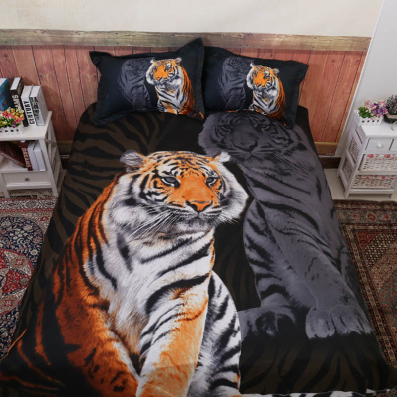 Animal 3D Tiger Comforter Bedding Sets King Twin Queen Size Family Bed Cover Linen Luxury Duvet Cover Set Bed Sheets BedspreadAnimal 3D Tiger Comforter Bedding Sets King Twin Queen Size Family Bed Cover Linen Luxury Duvet Cover Set Bed Sheets Bedspread
