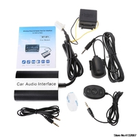 Car Bluetooth Kits MP3 AUX Adapter Interface For Toyota Lexus Scion 2003 2011 828 Promotion