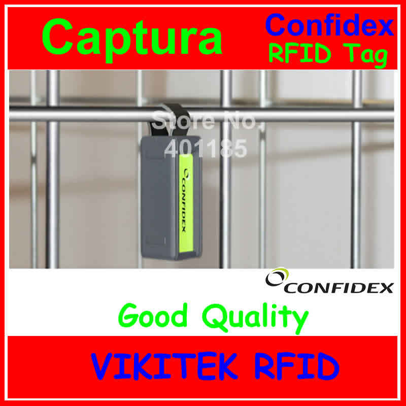 Confidex captura UHF RFID  tag 860-960MHZ 915M EPC C1G2 ISO18000-6C unprecedent level in security usability easy fast to attach usability engineering
