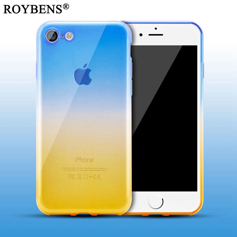 Fashion Luxury High Quality Soft Silicone Case For Iphone 7 Iphone