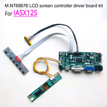 For IASX12S laptop LCD monitor LVDS CCFL 1400*1050 15″ 60Hz 30 pins 1-lamp M.NT68676 display controller driver board kit