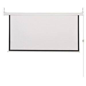 Image 3 - HD الحائط الإسقاط الكهربائية شاشة 60 72 84 100 بوصة 16:9 أو 4:3 العارض شاشة للمنزل Theate glassfiber 1.2 مكاسب