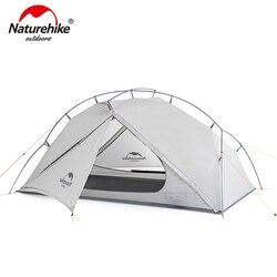 Naturehike VIK Serie 970g Ultralight Singolo Tenda 15D Nylon Impermeabile Tenda Da Campeggio Singolo strato Tenda Escursioni All'aperto NH18W001-K