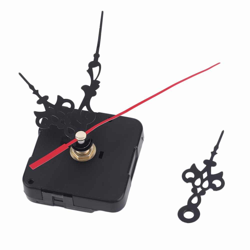 Professional And Practical Quartz Wall Clock Movement Mechanism DIY Repair Tool Parts Kit with Blue Hands Black For Home Use