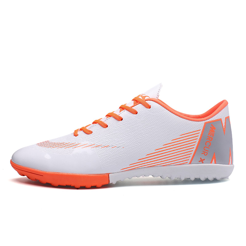 Indoor Superfly Breathable Chuteira Futebol High Quality Cheap Men Soccer Shoes Superfly Original TF Kids Football Boots Shoes(China)