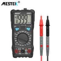 MESTEK DM90E multimètre tension cc/ca compteur de résistance de courant NCV True RMS Portable multimètres numériques outil de mesure