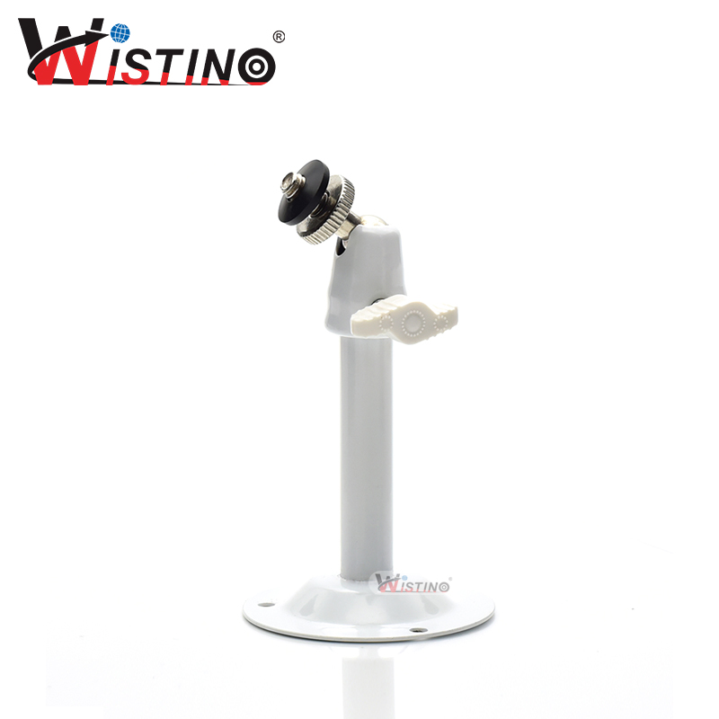 Bracket for CCTV Camera Support Stand Holder Security Video Camera Adjustable Wall Ceiling Install Accessories Metal Wistino owlcat indoor bullet cctv camera guard wall mount plastic housing shield with bracket for video surveillance security cameras