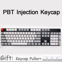 Mechanical Keyboard 104 Keys Keycap Top Printed DSA Profile Thick PBT Dolch Color Keycaps Only For MX Mechanical Gaming Keyboard