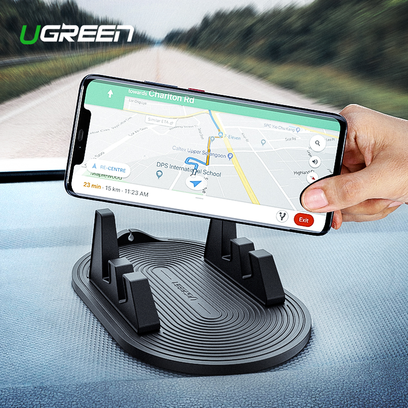Ugreen Car Phone Holder Suction Cup Holder No Magnetic  Stand for iPhone 7 8 Mobile Support Smartphone Holder Stand in the CarUgreen Car Phone Holder Suction Cup Holder No Magnetic  Stand for iPhone 7 8 Mobile Support Smartphone Holder Stand in the Car