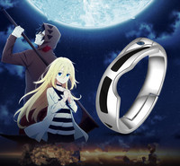 Anime Angels of Death Rachel Gardner Ray Isaac Foster Zack Fashion Rings S925 Sterling Silver Ring Wings Cosplay Gift New