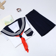 School Uniform Set  New Japanese High-end JK Sailor Fashion Elegant Long-sleeved Student