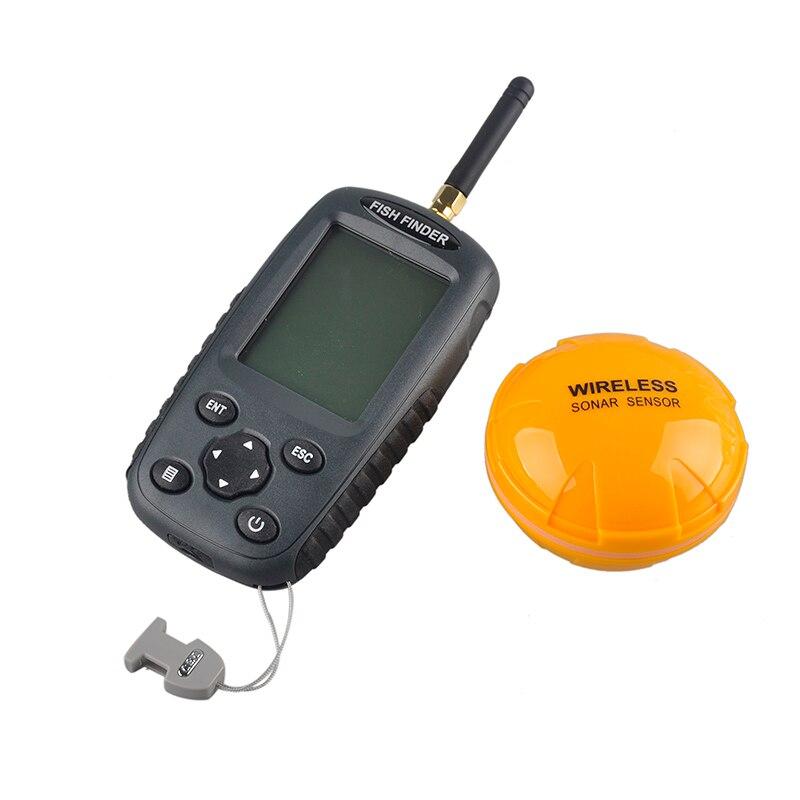 FF998 Portable Fish Finder Sonar Upgrade Wireless Fishfinder Sensor Rechargeable Waterpoof Fishs Alarm 125KHZ Echo Sounder portable fish finder bluetooth wireless echo sounder underwater bluetooth sea lake smart hd sonar sensor depth