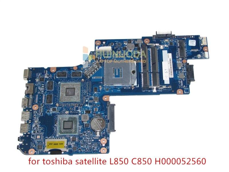Marque nouveau H000052560 Mère D'ordinateur Portable pour toshiba Satellite L850 L855 C850 c855 carte Principale hm76 7670 m test Complet