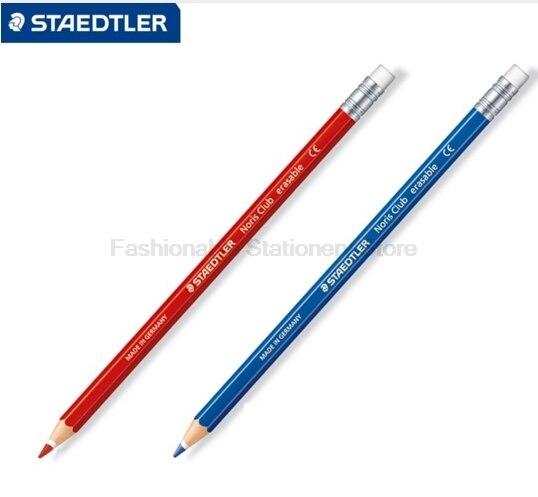 12 Teile/los STAEDTLER 14450 Farbige bleistifte Bleistift + gummi ...