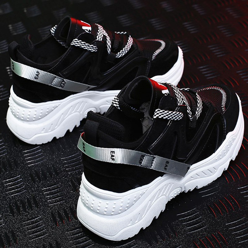 Platform sneakers Large size 39-44 Women sneakers Lace-up Shallow Dad shoes Mesh Increase Ladies shoes Hot buty damskiePlatform sneakers Large size 39-44 Women sneakers Lace-up Shallow Dad shoes Mesh Increase Ladies shoes Hot buty damskie