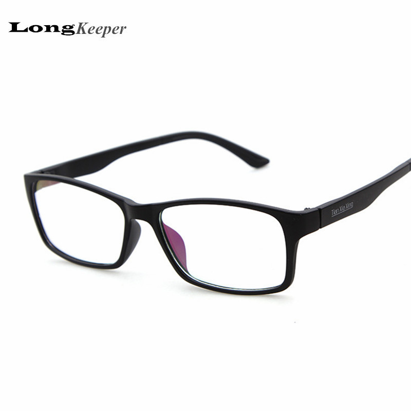 super light square glasses frame for women men clear lens optical frames black eyewares cheap price