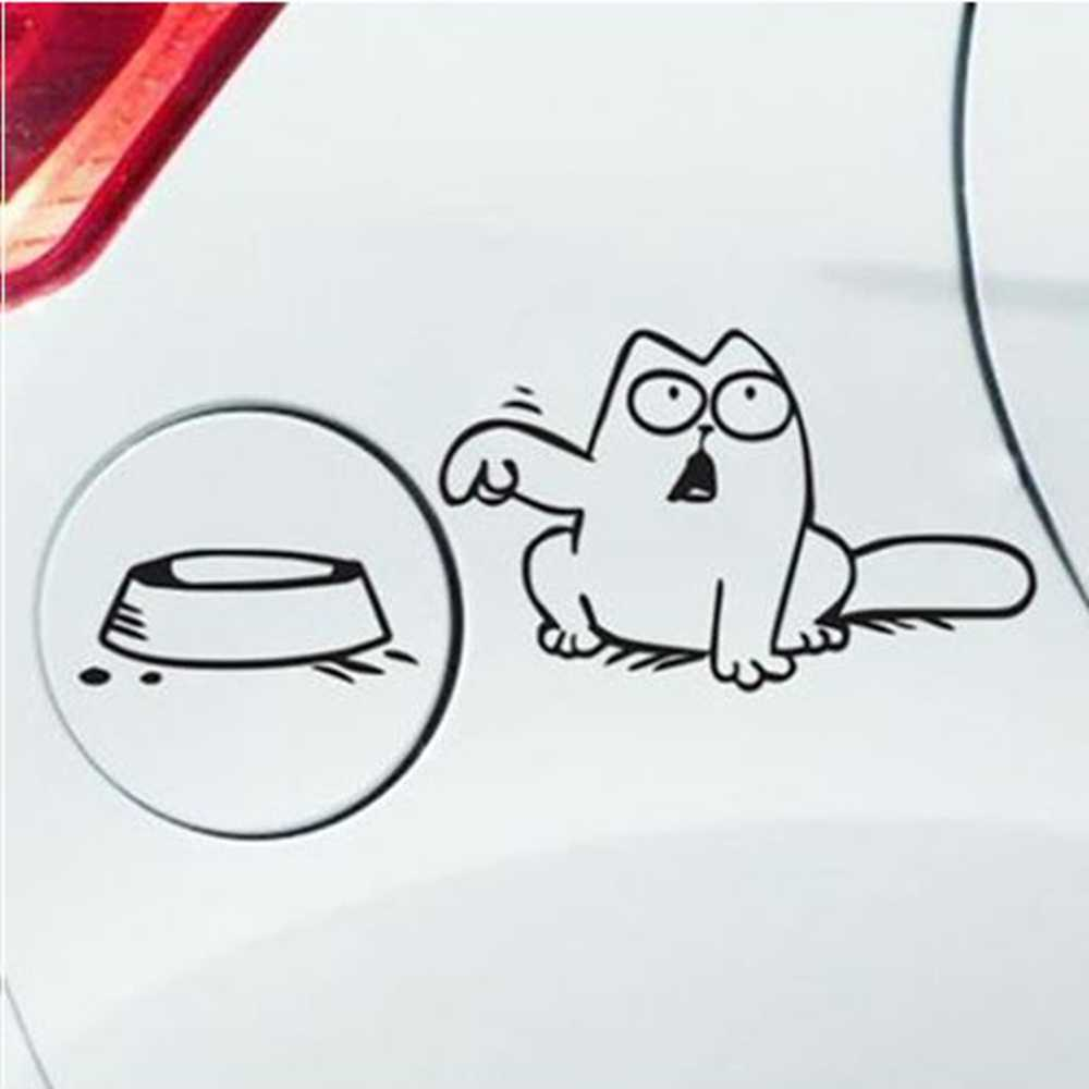 Fuel Cap Decoration Car Sticker Funny Auto Stickers and Decals Car Styling Accessories for Volkswagen Ford Toyota Mercedes Opel