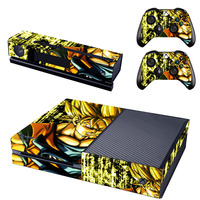 Anime Dragon Ball Decal Skin Sticker for Microsoft Xbox One Kinect and Console and 2 Controllers Vinyl Game Stickers