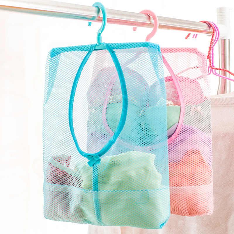 Многофункциональная Ванная комната детские игрушки подвесная сумка для хранения вещей сетчатые сумки детские игрушки для ванной Экологичные сетчатые детские игрушки для купания корзины