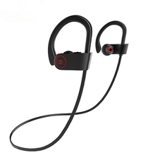 цена на Smart Bluetooth headphones HIFI bass stereo depth noise cancelling waterproof sport music earphones English voice prompt headset