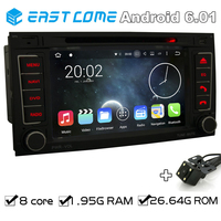 Pure Android 6 01 Car DVD For VW TOUAREG 2004 2011 VW T5 Multivan Transporter 2004