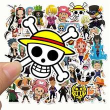 50 sztuk/partia Anime 2020 ONE PIECE Luffy naklejki na samochód Laptop pcv plecak Home naklejka Pad rower PS4 wodoodporna naklejka