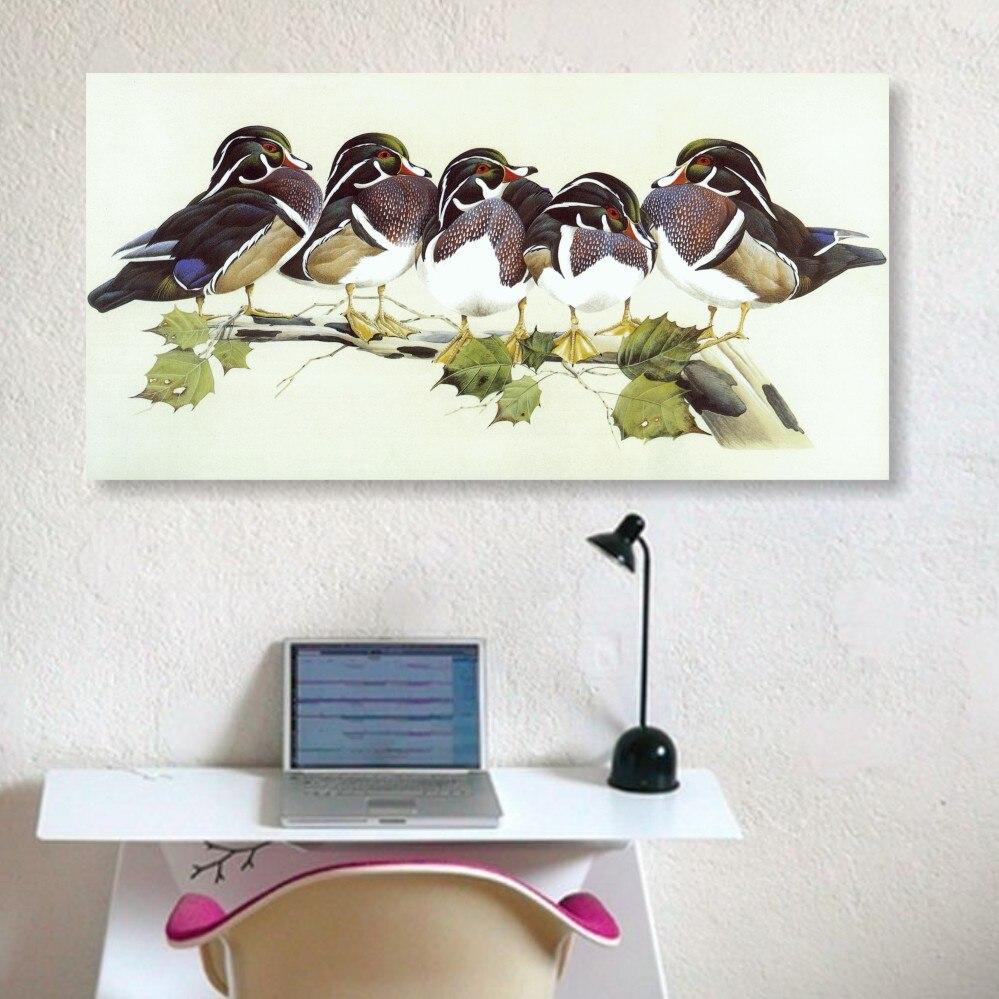 Grünland Ducks leinwand malerei moderne printed ölgemälde auf ...