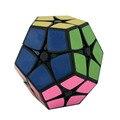 Shengshou cubo Mágico Speed Puzzle 2x2 Megaminx Velocidad Cubo Dodecaedro Rompecabezas Niños Juguetes Juguete Blanco Y Negro para Los Niños