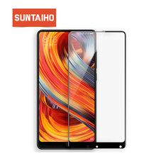 Suntaiho 9H 2.5D Full Cover Tempered Glass For Xiaomi Mi mix 2/MI mix New Sale Screen Protector For Xiaomi Mi mi6 Glass film
