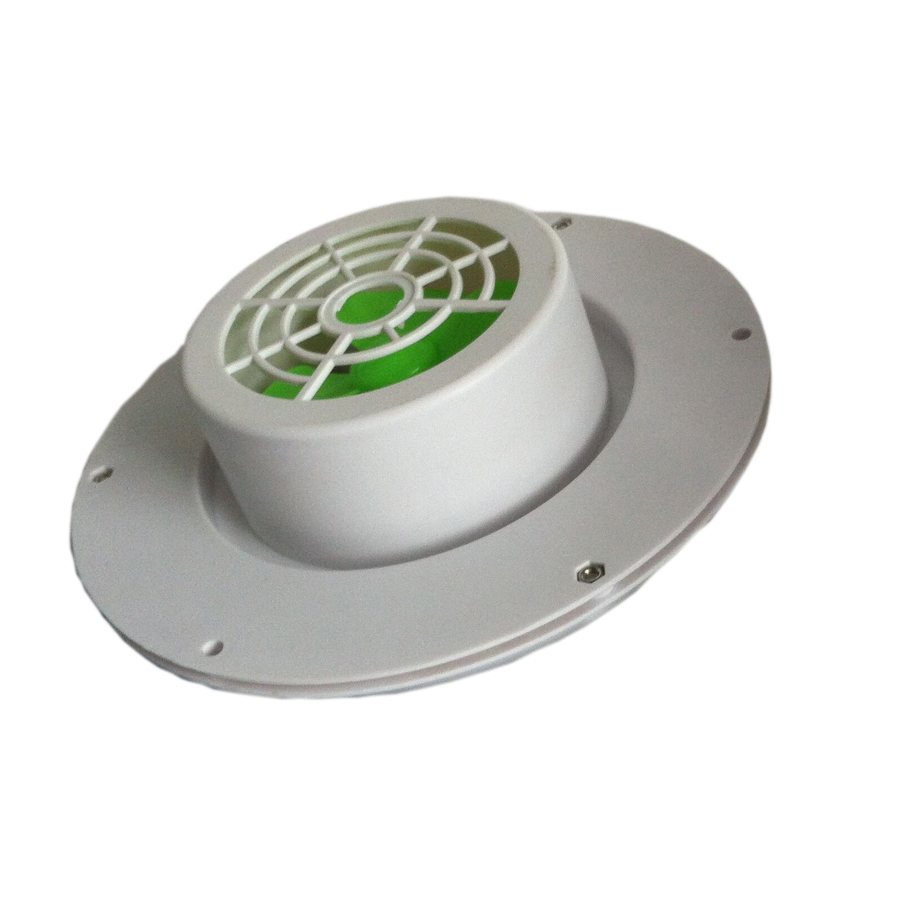 Image 3 - SOLAR VENT FAN AUTOMATIC VENTILATOR USED FOR CARAVANS BOATS GREEN HOUSE BATHROOM-in Air Conditioner Parts from Home Appliances
