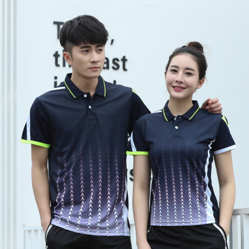 New Quick dry Badminton t shirt Men/Womens , sports badminton clothes ,Table Tennis t shirt , Tennis shirts , AY102