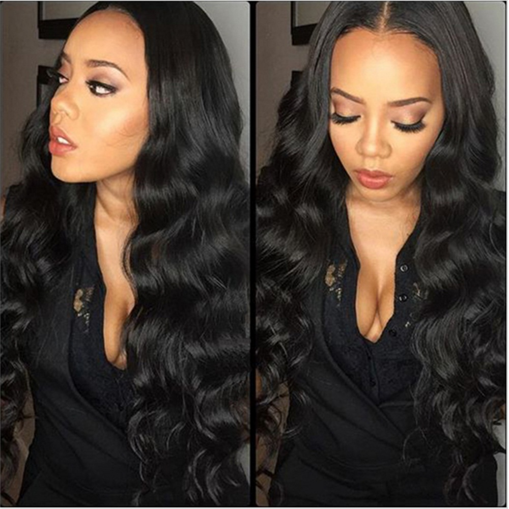 Abijale Body Wave Bundles With Closure Brazilian Hair Weave Bundles With Closure Human Hair Bundles With Closure Non Remy