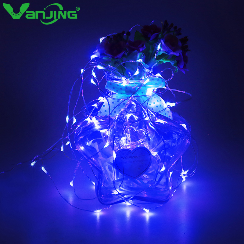 100LED Holiday Lights DC Sliver Wire 10M Fairy Lights LED String Light Christmas/New Year/Wedding Decoration Lights Led Strings