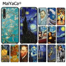 MaiYaCa Van gogh Starry Mona Lisa Phone Case Cover for Huawei P20Lite P30Pro P Smart Y5 Y6 Honor8A 8C 10i Nova3 Mate20Lite