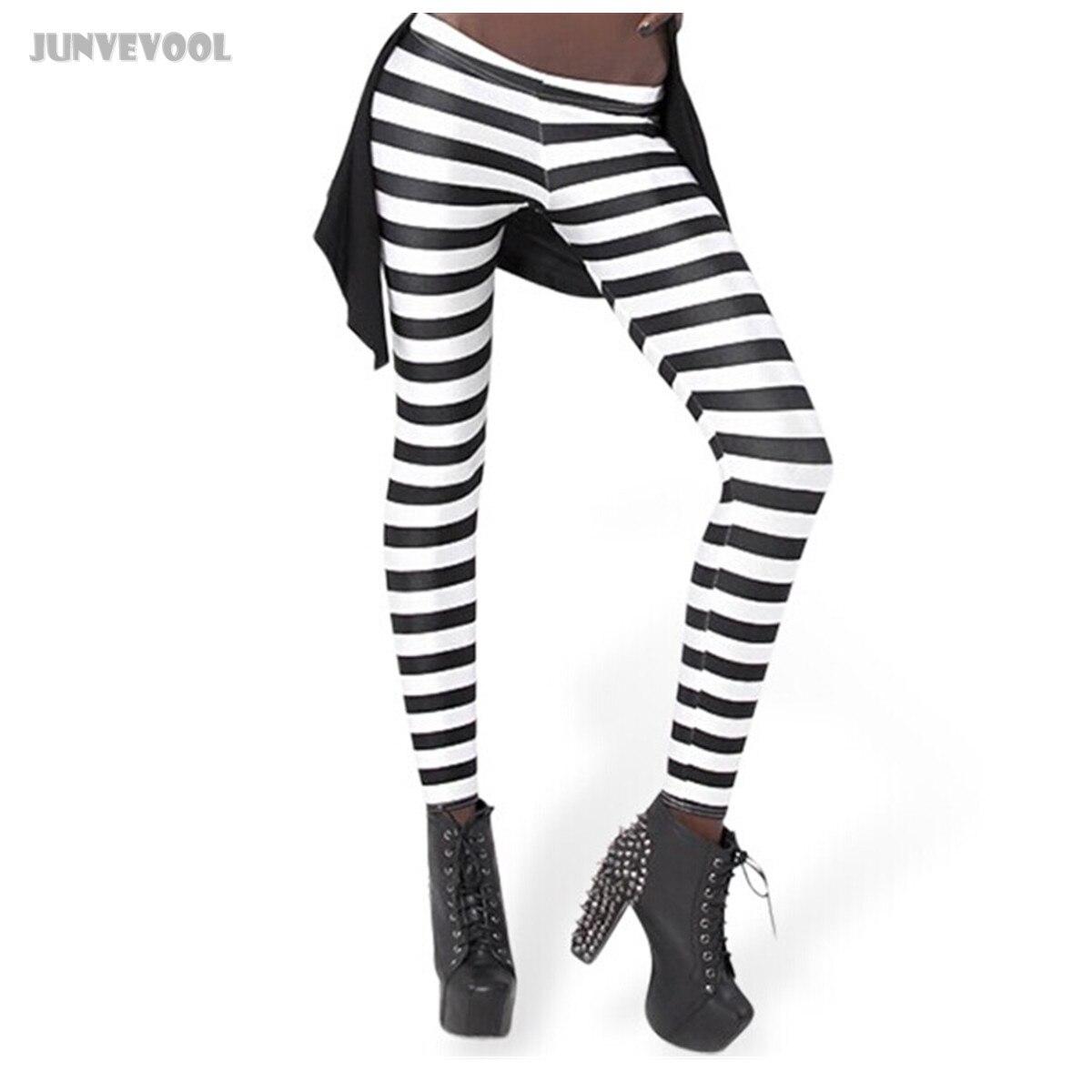 Fitness Wear for Women 3D Zebra Pattern Print Leggings Womens White Black Stripes Capris Ladies Girl Seamless Stretch Pants