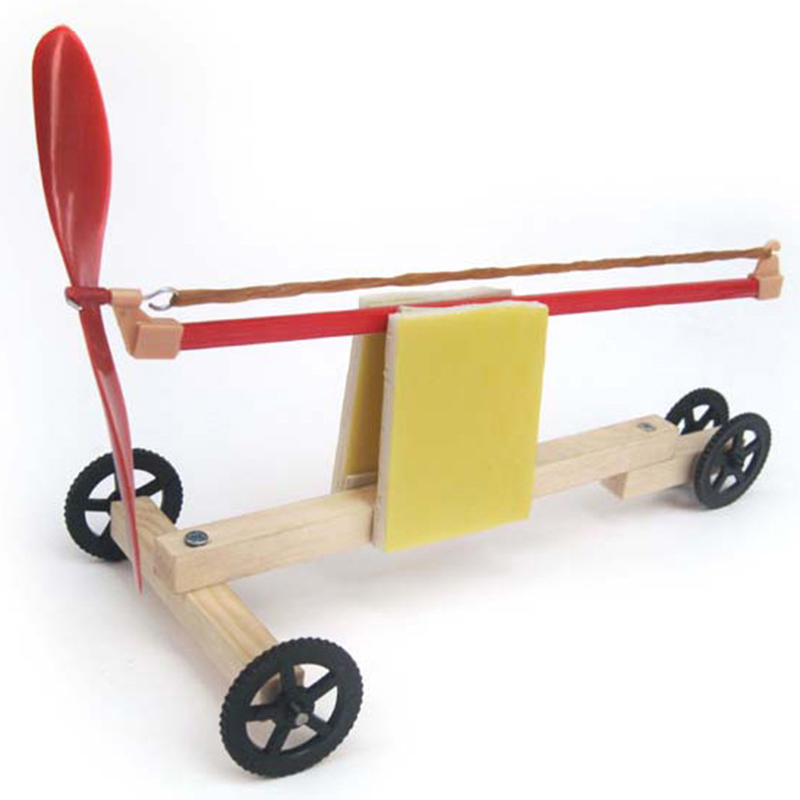 unidades nios reunidos juguetes educativos innovadores nios diy creativo dinmico elstico banda de goma powered