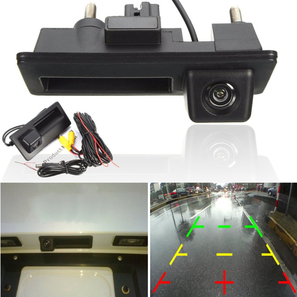 New 720 540 Car Rear View Camera Reversing Backup Camera for  for GOLF for JETTA for TIGUAN RCD510 RNS315 RNS310 RNS510