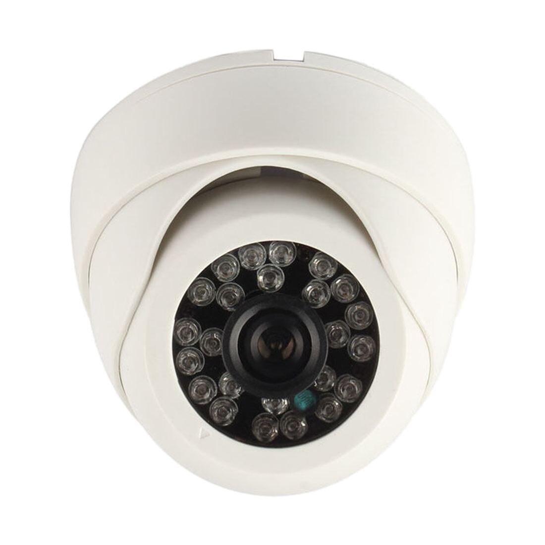 2 Packs 700TVL CMOS CCTV Surveillance Home Security 24IR Camera Dome Day Night VisionTelevision Standards:PAL 2 packs black surveillance camera pal 1 3 cmos 700tvl 24 led ir cut 3 6mm security indoor dome cctv camera