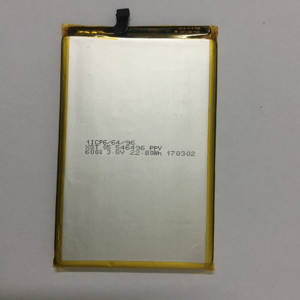 Blackview & P2 P2 Bateria Lite 100% Novo 6000 mAh li-ion Substituição Da Bateria Back-up para o Blackview P2 & P2 Lite Smartphones
