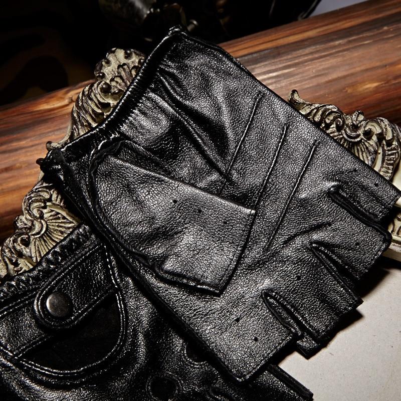Γνήσια δερμάτινα γάντια με - Αξεσουάρ ένδυσης - Φωτογραφία 3
