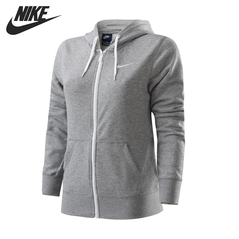 цена Original NIKE CLUB FT FZ HOODY-SWOOS Women's Jacket Sportswear онлайн в 2017 году