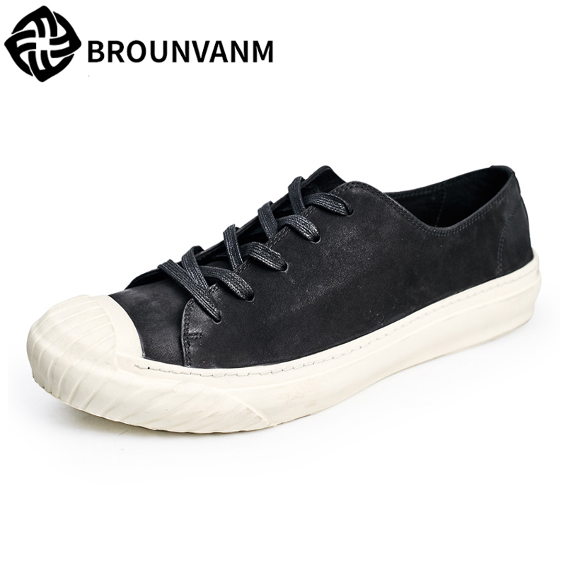 British reto men's shoes retro male youth spring autumn summer all-match cowhide breathable sneaker shoes men Genuine Leather 2017 new autumn winter men leather shoes casual all match british tide fashion shoes breathable sneaker shoes