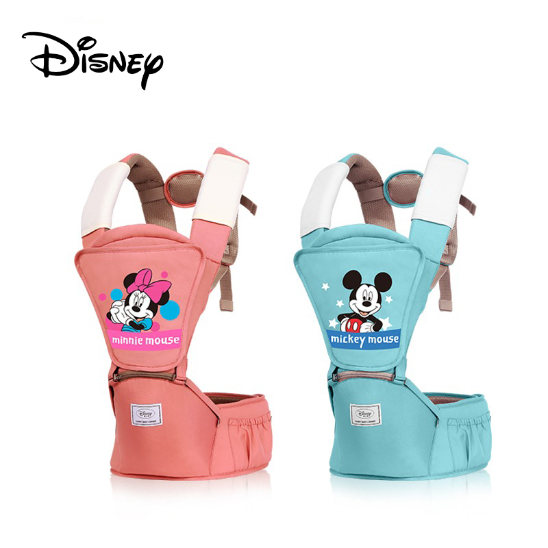 Disney Baby Carrier For Women Ergonomic Toddler Backpack Hipseat For Newborn Baby Kangaroos Breathable Front Facing Carrier