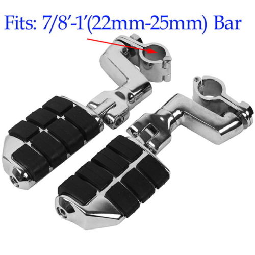 Motorcycle Front Foot Rest Foot Pegs For Honda Goldwing GL1800 Valkyrie 1998 1999 2000 2001 2002 2003 TRIUMPH ROCKET 3 2300cc