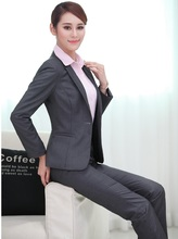 New Professional Formal Pantsuits For Business Women Blazers 3 pieces With Jackets + Pants + Blouse Female Trousers Sets Outfits