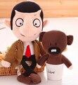 1 unid 30 m 40 cm Mr Bean oso de peluche lindo muñeco de peluche de peluche de juguete divertido de la novedad creativa de dibujos animados chica regalo de los niños