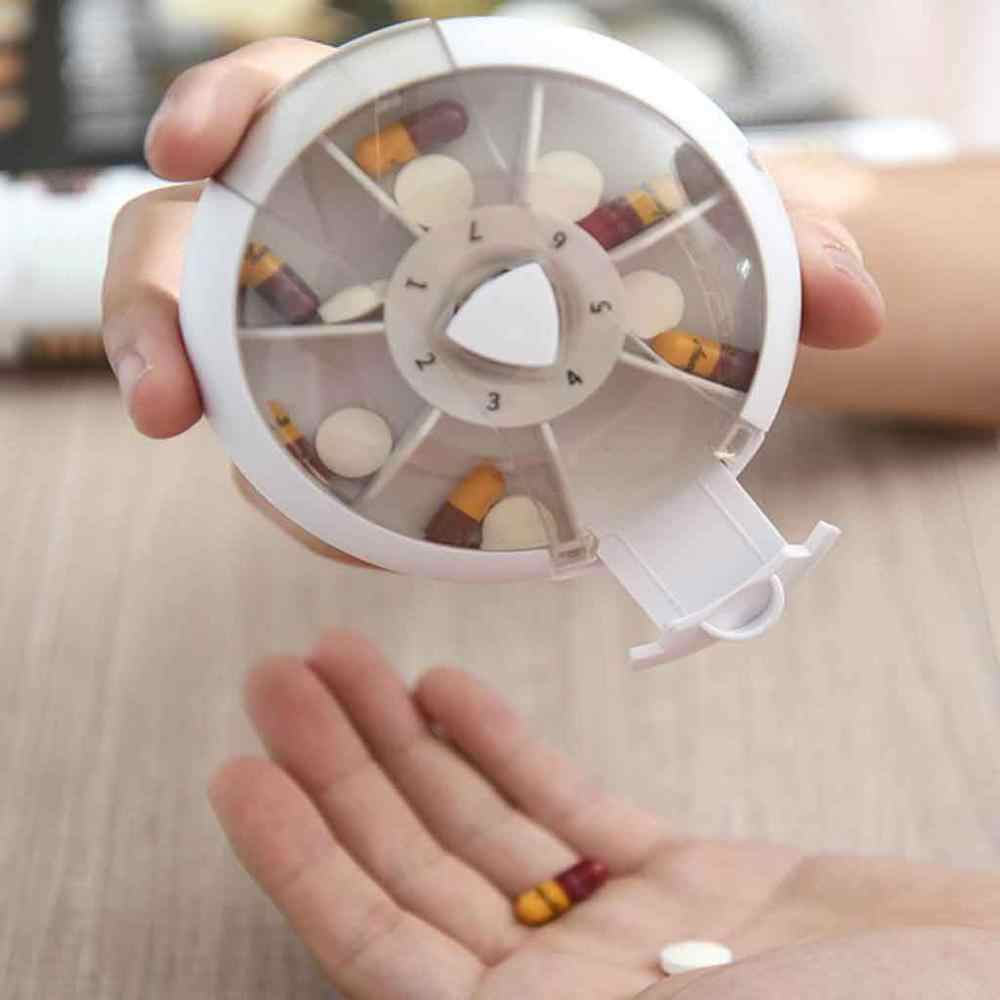 Armazenamento De viagem Pill Box Medicina Tablet Vitamina Dispenser Organizador Dia Tablet Titular Organizer Container Casos @ 15 7