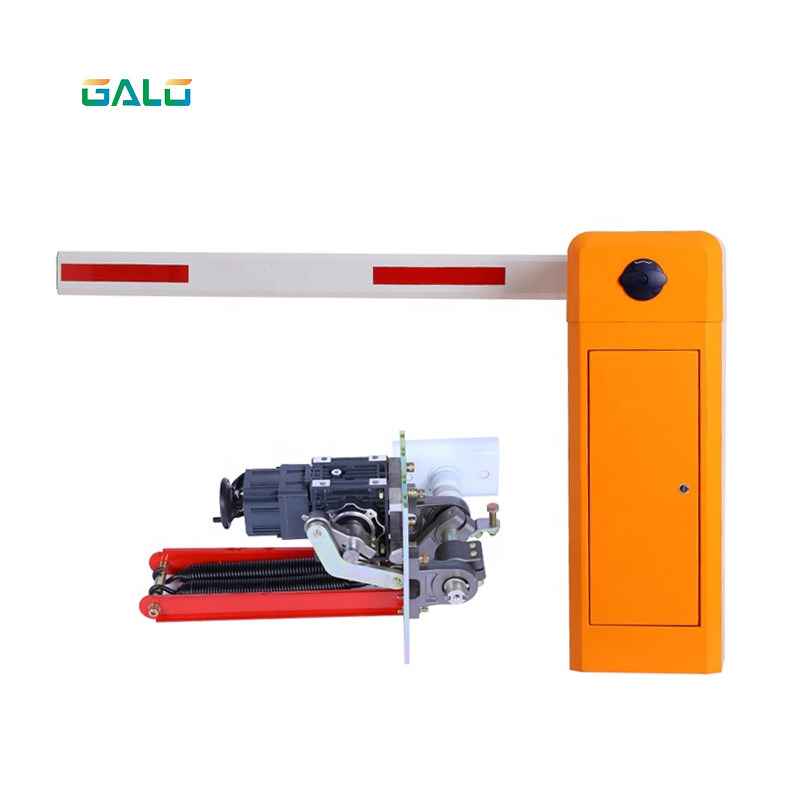 Free Maintenance Hall Limit DC Brushless Motor Remote Parking Barrier Gate
